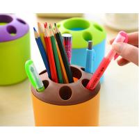创意实用纪念品笔筒公司开业广告宣传活动小礼品定制可印LOGO批发 多用途牙膏牙刷筒牙刷座