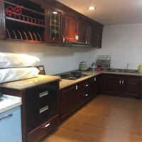 富滋雅整体橱柜定制吸塑厨房厨柜订制石台面防潮板材吊地柜