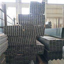 云南曲靖方管代理商 Q235 产地玉溪 60*80*2mm装饰用机床设备用矩形管