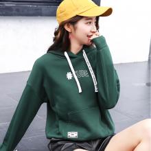 杭州四季青女装卫衣批发市场韩版时尚卫衣衣服哪里批低级甩卖的货源直播货源