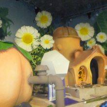 广州大型仿真花生产厂家 人造花批发 幼儿园假花装饰定做