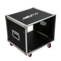 8U航空箱  移动演出音响功放专用航空机柜 狮乐厂家直销