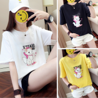 夏季圆领T恤广州沙河T恤批发市场拿货几块钱纯棉T恤新款韩版上衣