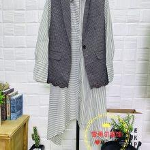 19新款品牌女装服饰费依知名优雅风秋冬装外套厂家直销新款组货包