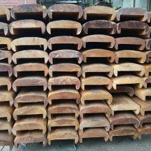 户外扶手栏杆/上海港榕木材厂家/防腐木定制扶手栏杆