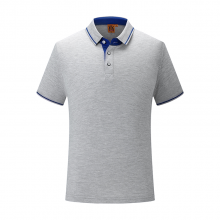 贵州POLO衫,翻领短袖广告衫批发订做,ZHIT-1878A精梳棉陶瓷桑蚕丝32支