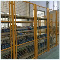室内防护金属网 仓库货物隔离防护网价格 黄山市边框金属网厂家