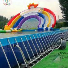 高温要挺住!经营大型移动水上乐园生意为时还不晚