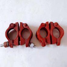 陕西汉中建筑架管扣件厂家批发 十字转向接头 脚手架连接固定卡扣