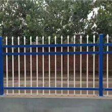 公园草坪锌钢护栏网-道路绿化围栏网-市政道路防撞栏