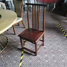 古典中式椅子定做,老北京火锅店椅子,新中式餐椅款式