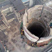 人工拆70米水泥烟囱需要多少钱一米