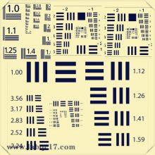 SFRplus标定板16:9相机镜头影像chart图4:3格式定制测试卡