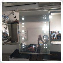 卫生间镜子 无框壁挂led智能卫浴镜化妆镜洗手间防雾镜浴室镜灯镜