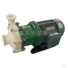杭州CQB氟塑料化工泵 CQB40-25-120F氟塑料泵 卧龙磁力泵 全塑泵 卸酸泵 防腐氟泵