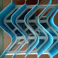 冷却塔淋水装置 凉水塔收水器 S型环保除水器 亿恒塑料