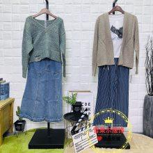 上海知名品牌费依女装女装休闲款秋冬外套特卖货源新款组货包