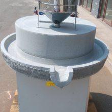 厂家直售 天然石磨豆浆机 干湿两用石磨机 电动花生酱石磨机