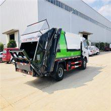 东风天燃气DF压缩垃圾车 环保节能型压缩垃圾收运车参数配置表格