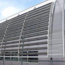 日产4s店指定铝格栅定做厂家-日产4s店外墙铝格栅供应商