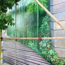 手绘墙-橙与蓝(在线咨询)-城厢区手绘墙