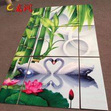 瓷砖背景墙5D雕刻彩绘机厂家