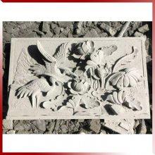 惠安石雕厂加工 立体山水花草动物浮雕 装饰浮雕壁画 墙面石材浮雕