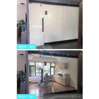 电控调光玻璃隔断 通电雾化玻璃
