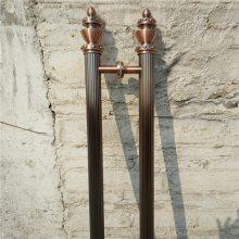 KTV包厢门好声音黑钛不锈钢拉手 耐用仿古铜拉手玻璃门钛金拉手