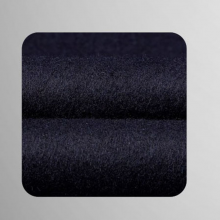 TL500753贵州男大衣定做藏青色50%羊毛西装领平驳头单排扣两粒中长款男大衣