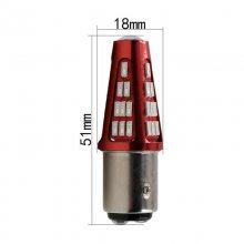 汽车LED高位刹车灯转向灯1157 1156 Ba15s 4014 48smd 跨境***