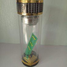 广告杯双层玻璃杯定制印logo 礼品杯男水杯便携保温杯子印字赠品