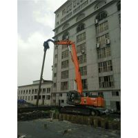浙江湖州打桩机械租赁湖州钢板桩拉森桩打拔围堰施工