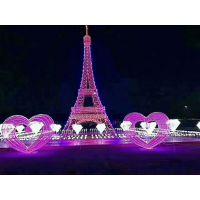 全新LED灯光节造型展览租赁专业承接灯光节主题会展活动