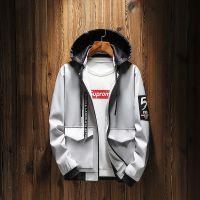男士秋季新款夹克18年韩版修身帅气男式外套青少年潮流百搭男装