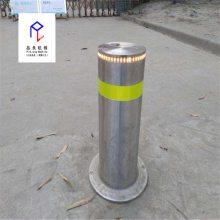 学校智能升降柱 液压一体升降桩 全自动交通安全升降路桩 停车桩