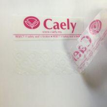 VOID防伪标签材料厂家 25#白色阴版VOID 防盗防拆防撕标签厂家