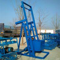 生产不锈钢单斗提升机 肥料颗粒翻斗提升机 混凝土单斗上料机qk