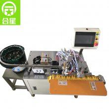 厂家供货直销 自动化USB全自动焊锡机东莞数据线焊接设备 HX-001