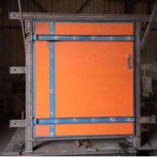 什么是矿用竹胶板风门?竹胶板风门解析/竹胶板风门(覆膜竹胶板无压风门)工艺
