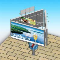 高炮广告牌 制作大型户外广告塔 单立柱高速公路广告牌
