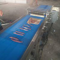 安徽鸡胸肉切片机 鸡柳切条设备生产基地