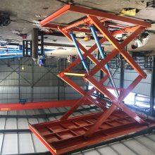 渭南工廠貨梯 载重10吨剪叉式升降貨梯 380V电源升降 pt游戏平台厂家 量身定制