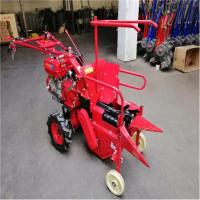 自动化单排双轮玉米收获机 农田大地块玉米收获机 自动掰棒子机
