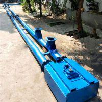 石膏粉管链输送机 厂家定做不锈钢管链机 粉煤灰管链输送机