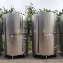 河北果酒发酵罐 304不锈钢酒罐 储酒容器厂家 灌装用高位罐定做