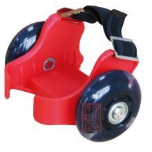 宝虹旋转发光耐磨PU轮带刹车星彩轮自由漂移刷街代步专业板防滑通用滑板