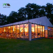 【婚庆活动篷房】全透明婚礼宴客活动帐篷房 铝合金篷房展会租赁