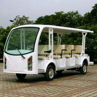 安步优品ABLQY146白色新款14座旅游观光车景区游览电动车价格
