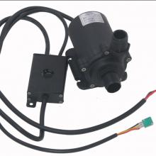 24V大功率91W太阳能管道地暖热水高温调速加压循环直流无刷潜水泵